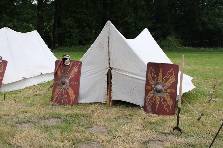 Tente utilisée par les soldats romains