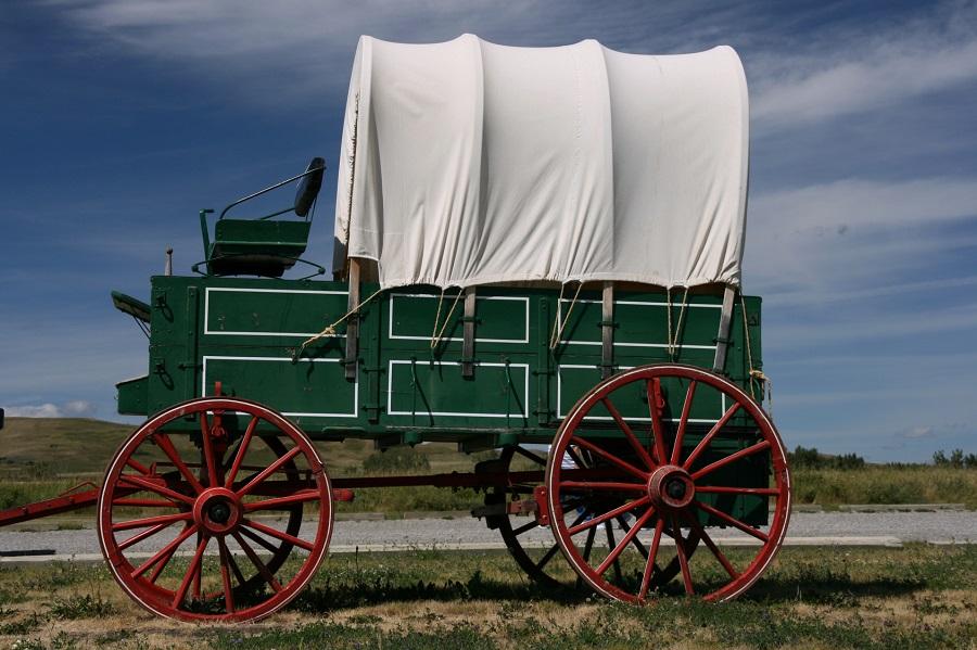 Chariot des pionniers américains
