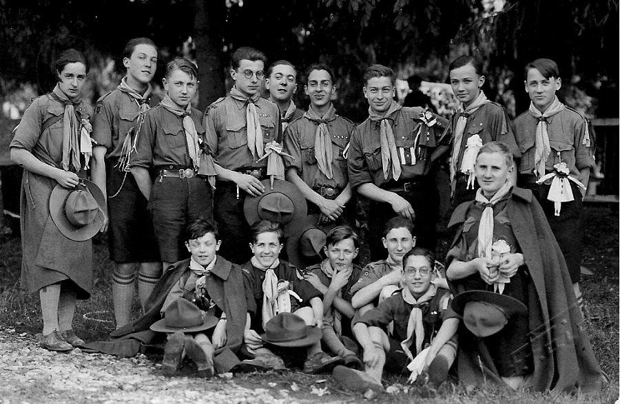 Le scoutisme, forme traditionnelle du camping