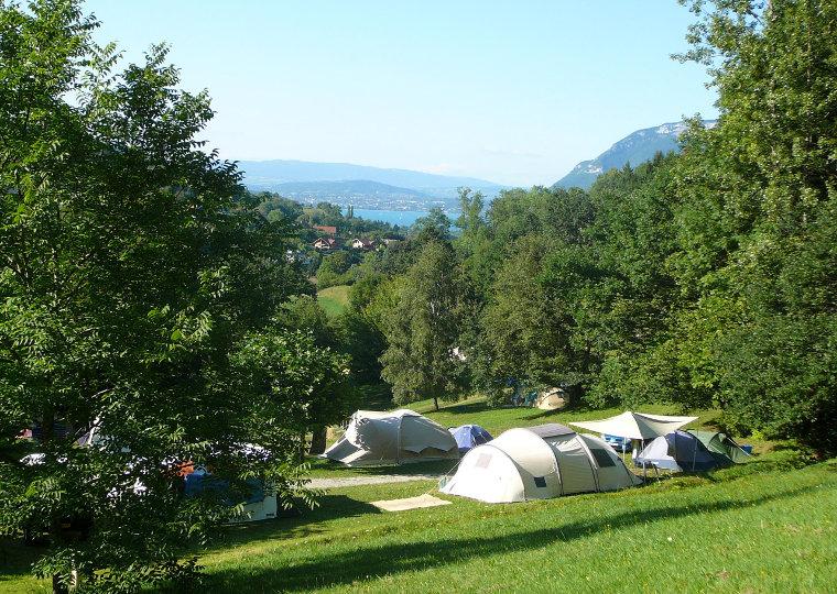 Nos campings annecy et dans les aravis for Camping savoie avec piscine