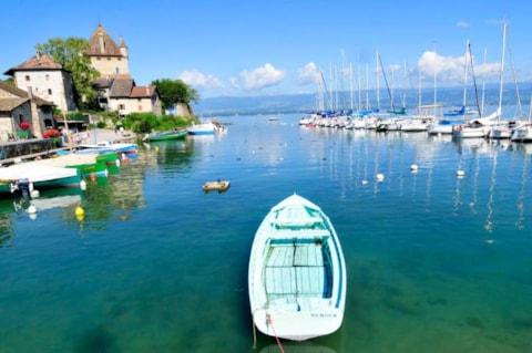 Campings lac l man chablais et portes du soleil - Camping thonon les bains avec piscine ...
