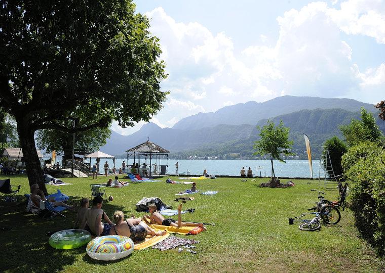Nos campings annecy et dans les aravis for Camping annecy avec piscine