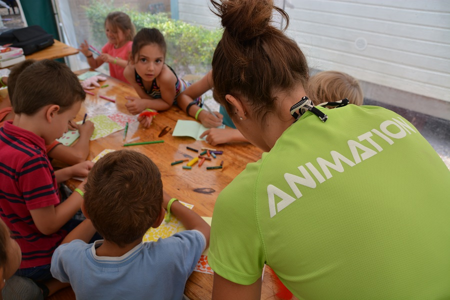 Animations enfants comprises dans la location