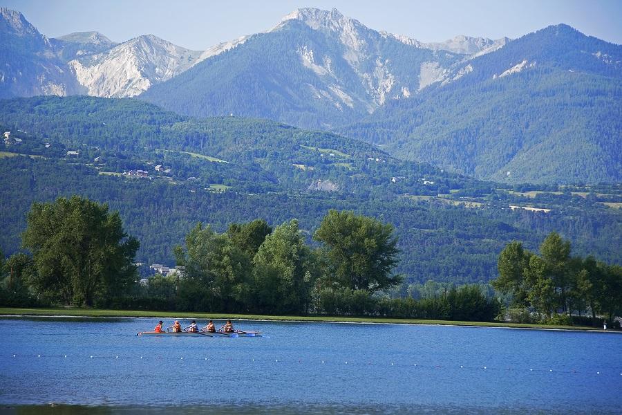 Le lac artificiel de Serre-Ponçon