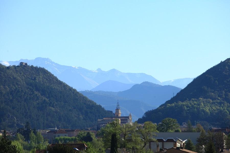 La ville thermale de Digne-les-Bains