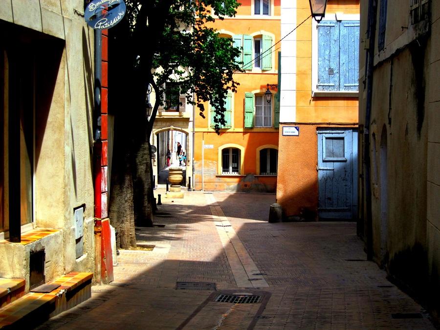 Dans les rues de Manosque
