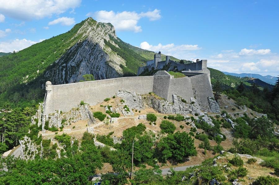 L'imposante forteresse de Sisteron