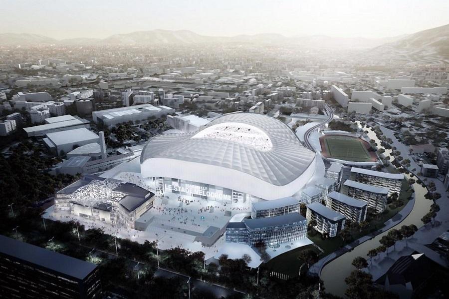 Le Stade Vélodrome à Marseille pour l'Euro 2016
