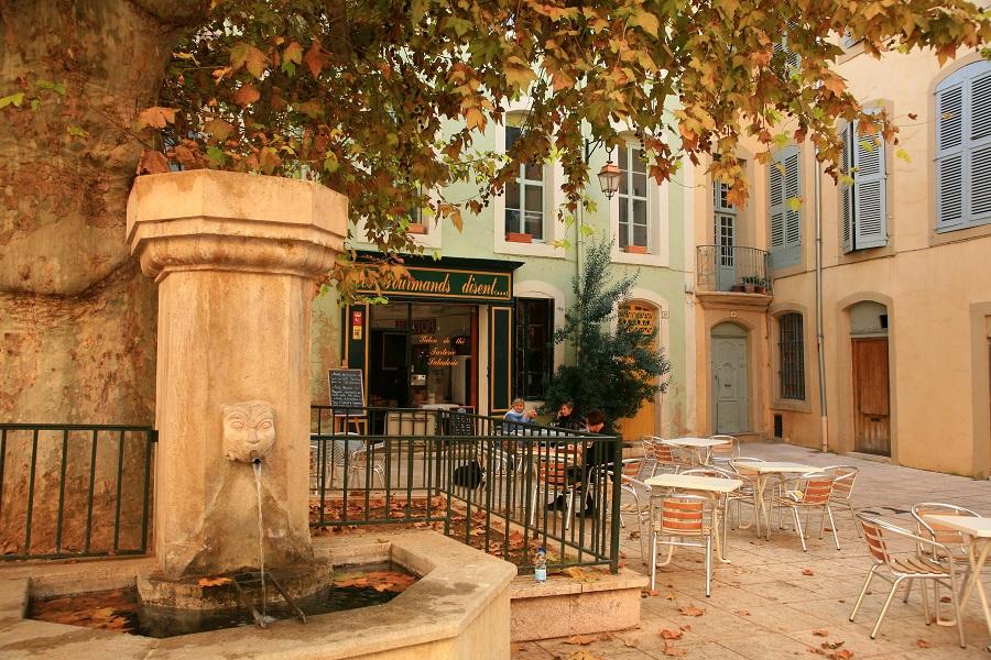 Paysage de Provence à Apt