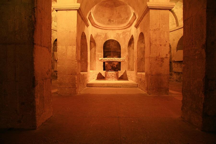 Crypte de la Basilique Sainte-Anne d'Apt