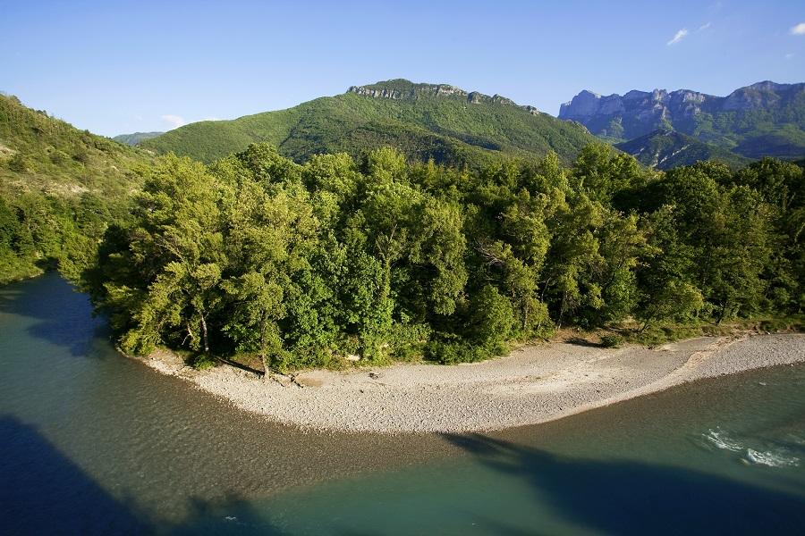 La rivière de la Drôme