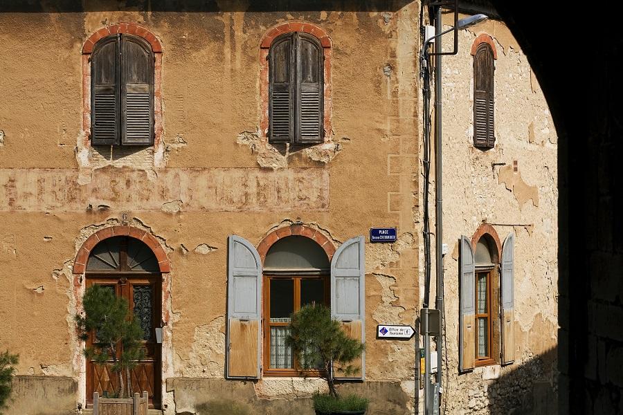 Dans les rues de Die dans la Drôme