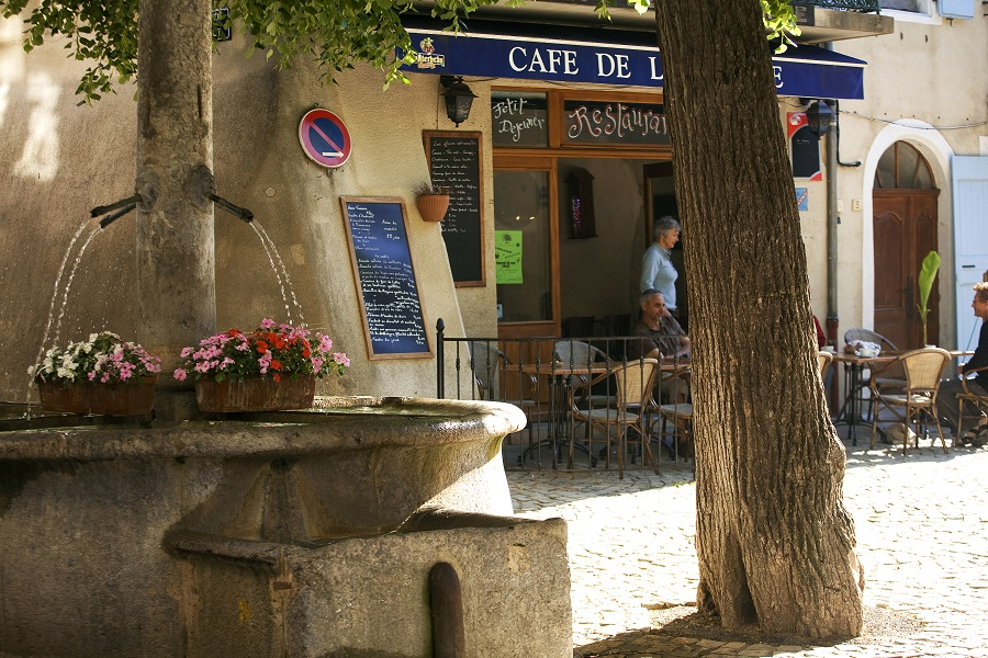 Le village de Châtillon-en-Diois