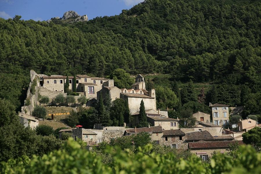 Le village médiéval de Gigondas
