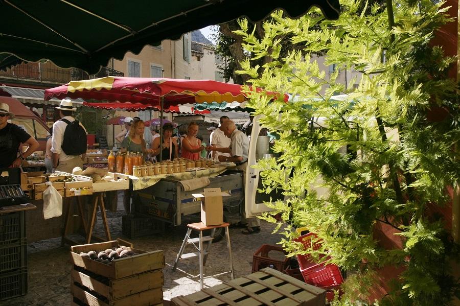 Buis-les-Baronnies dans la Drôme