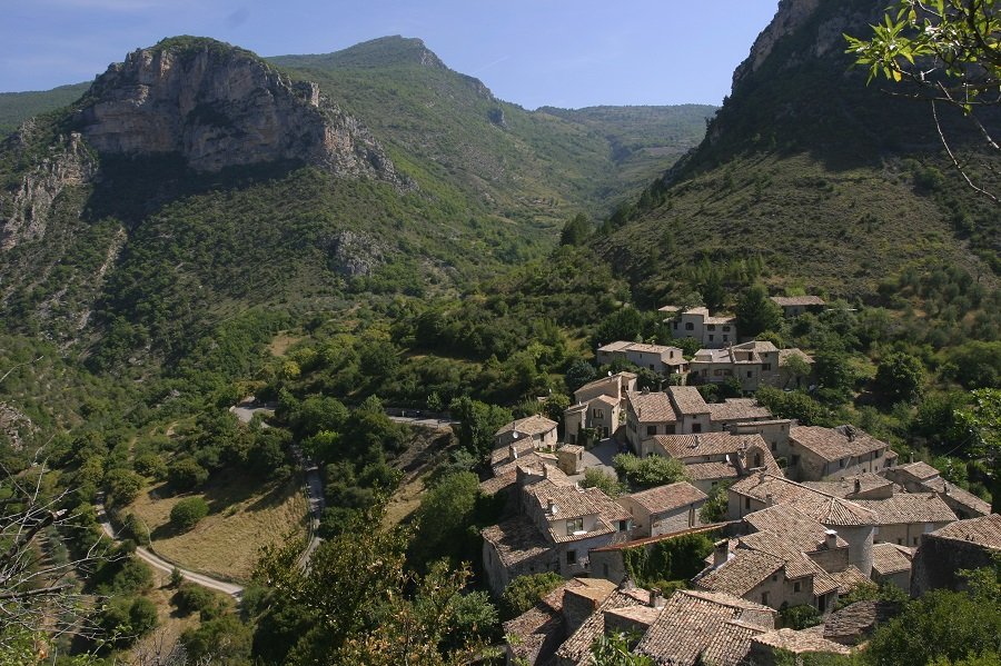 St-May village perché