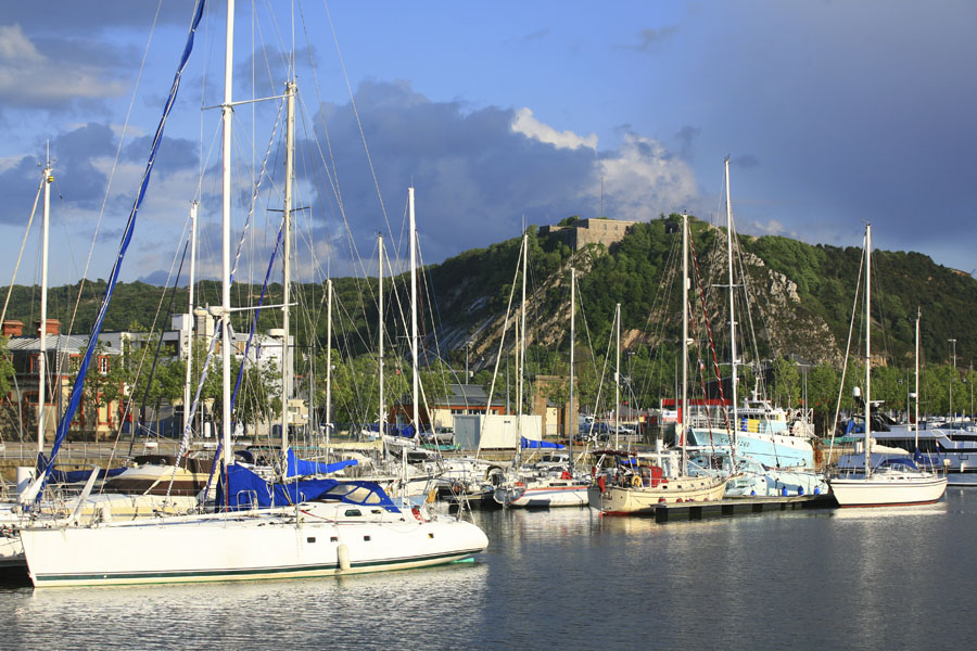Le port de plaisance de Cherbourg