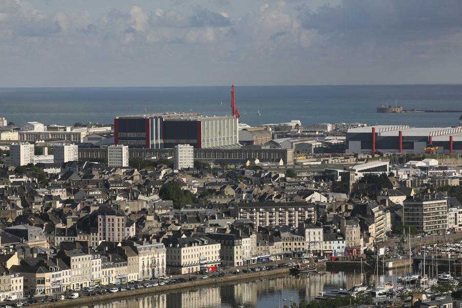 Le port de Cherbourg-Octeville
