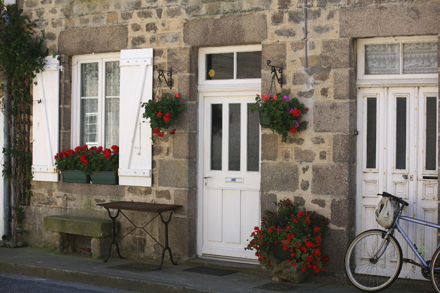 Maison de granit typique de Barfleur
