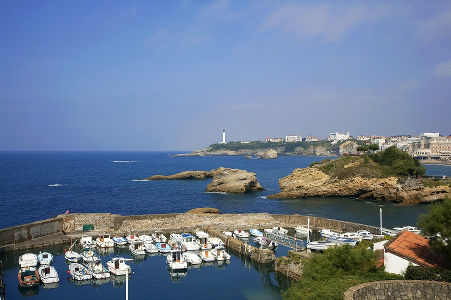 Le port des pêcheurs de Biarritz