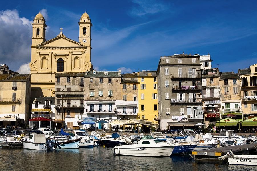 L'église Saint-Jean-Baptiste de Bastia