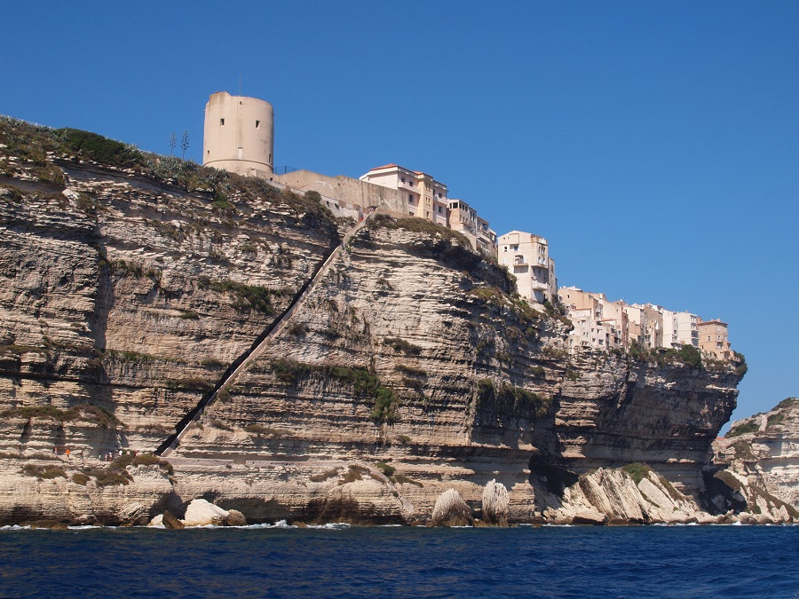 Bonifacio, pointe sud de la Corse
