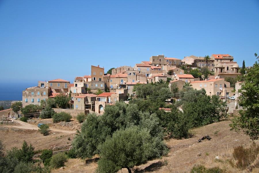 Le village de Pigna en Balagne