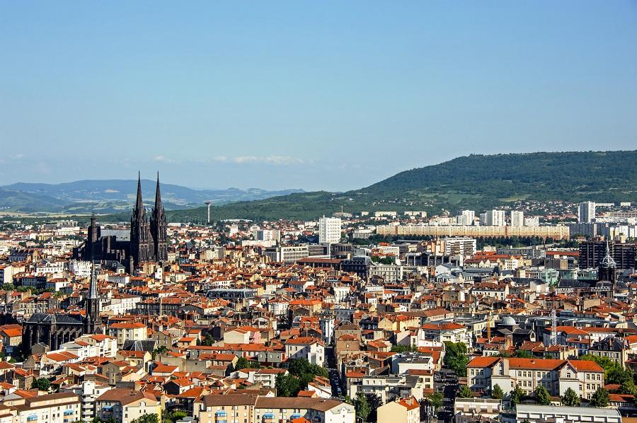 La ville de Clermont-Ferrand