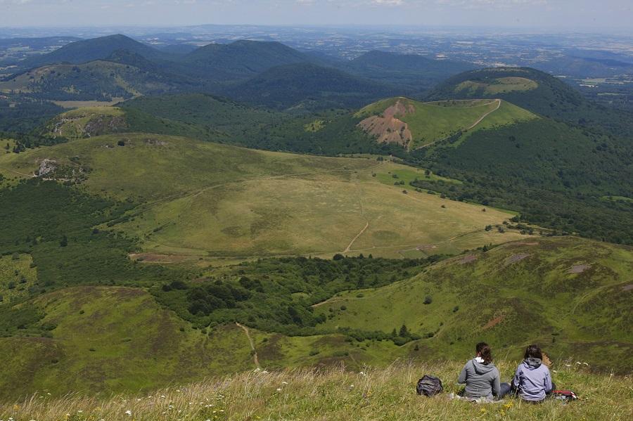 Volcans d'Auvergne : le puy de Pariou
