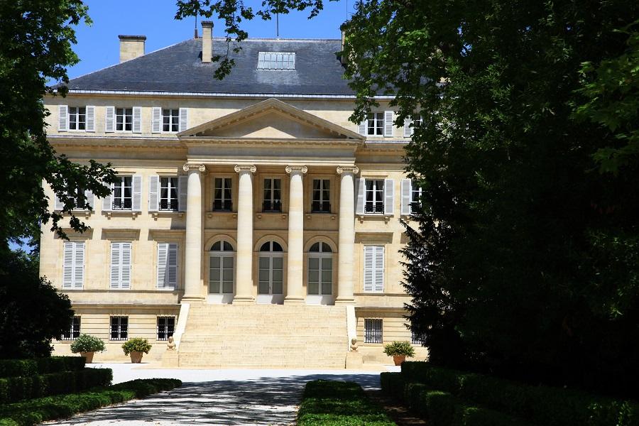 Le célèbre Château Margaux