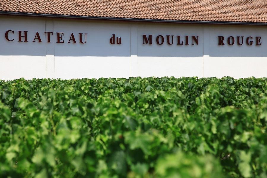 Château du Moulin Rouge à Cussac Fort Médoc