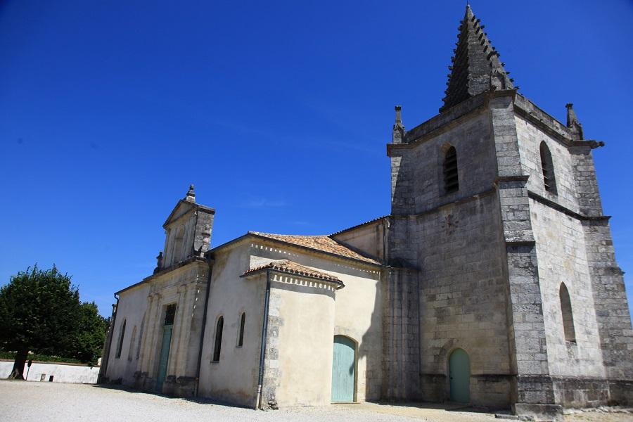 L'église Saint-Martin à Listrac-Médoc