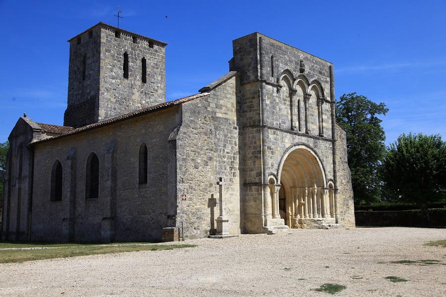 L'église de Moulis-en-Médoc