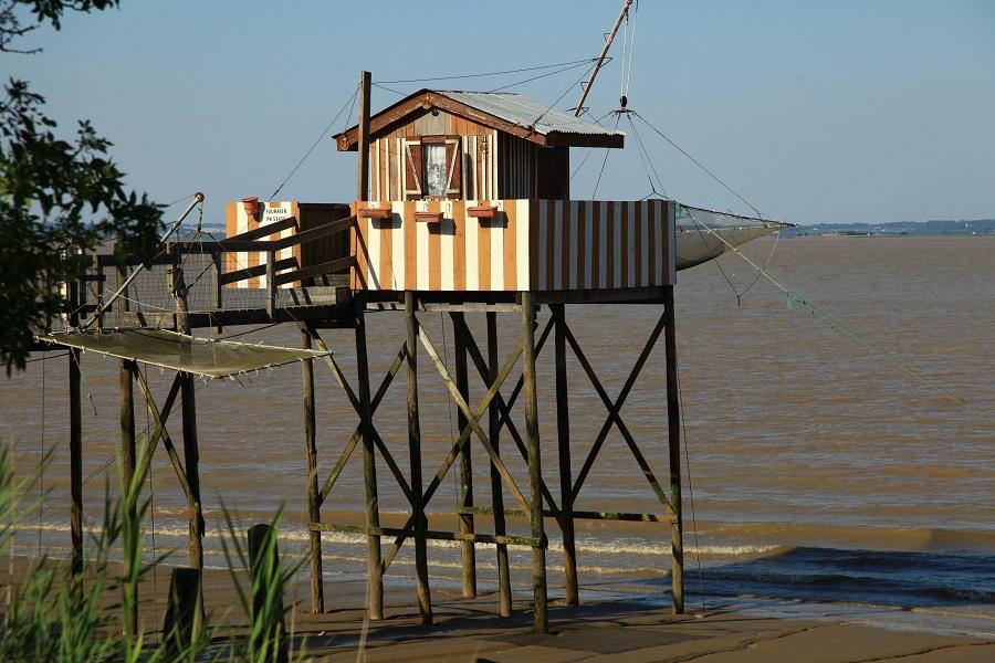 Carrelet : cabane à pêche