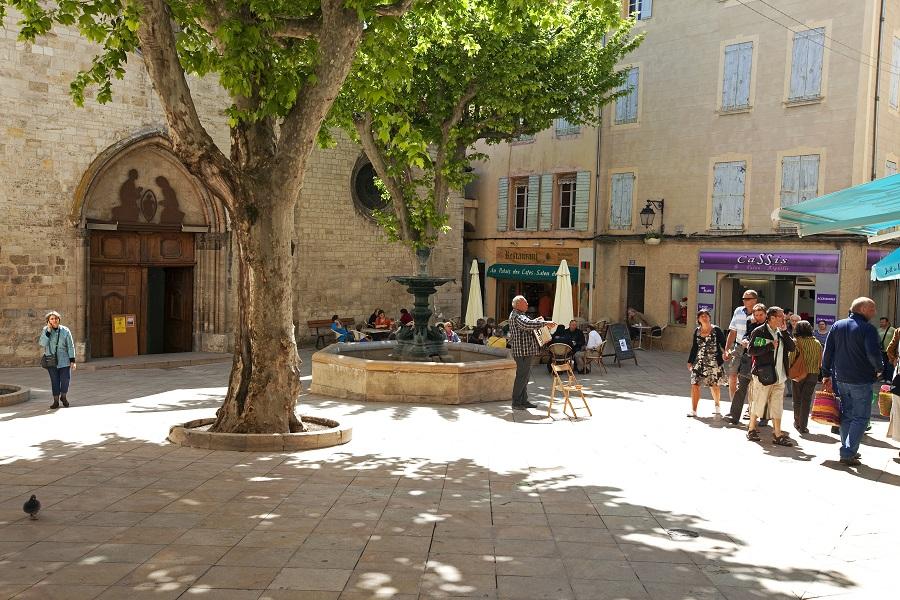 Le vieux centre de Manosque