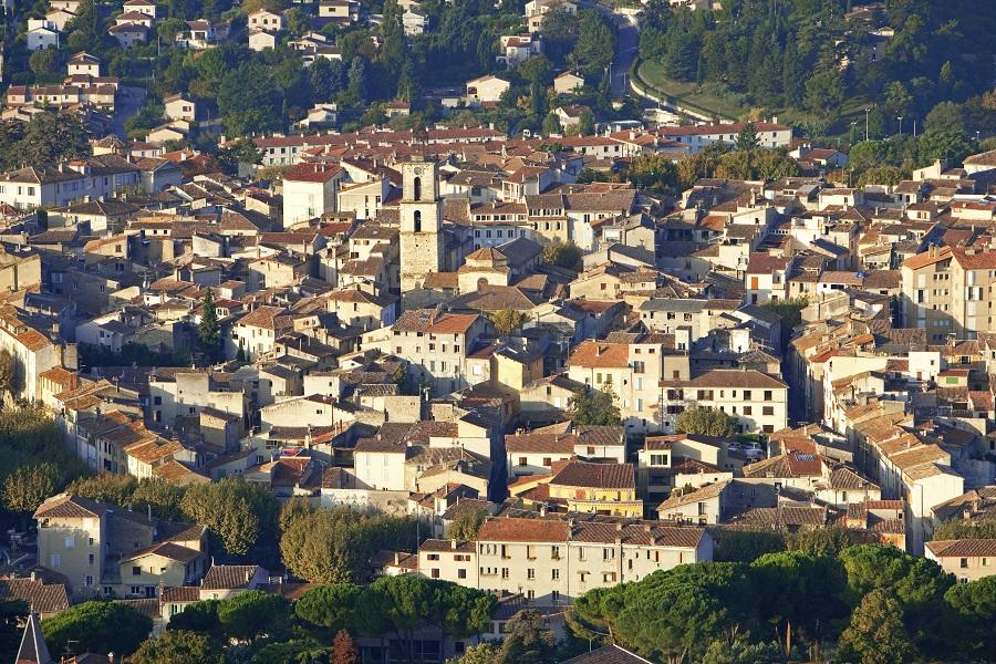 La ville de Manosque