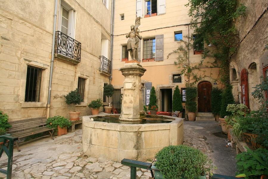 À Forcalquier en Haute-Provence