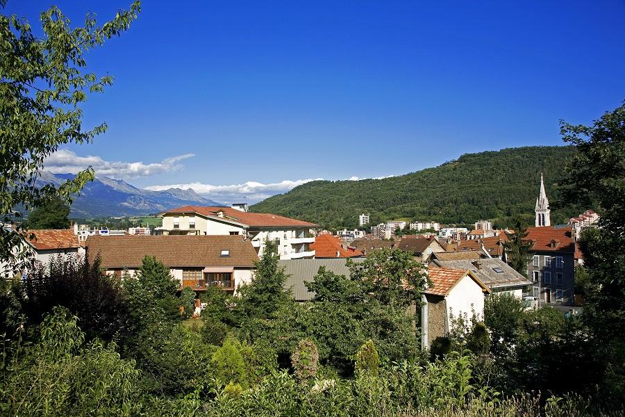 La ville de Gap, chef-lieu des Hautes-Alpes