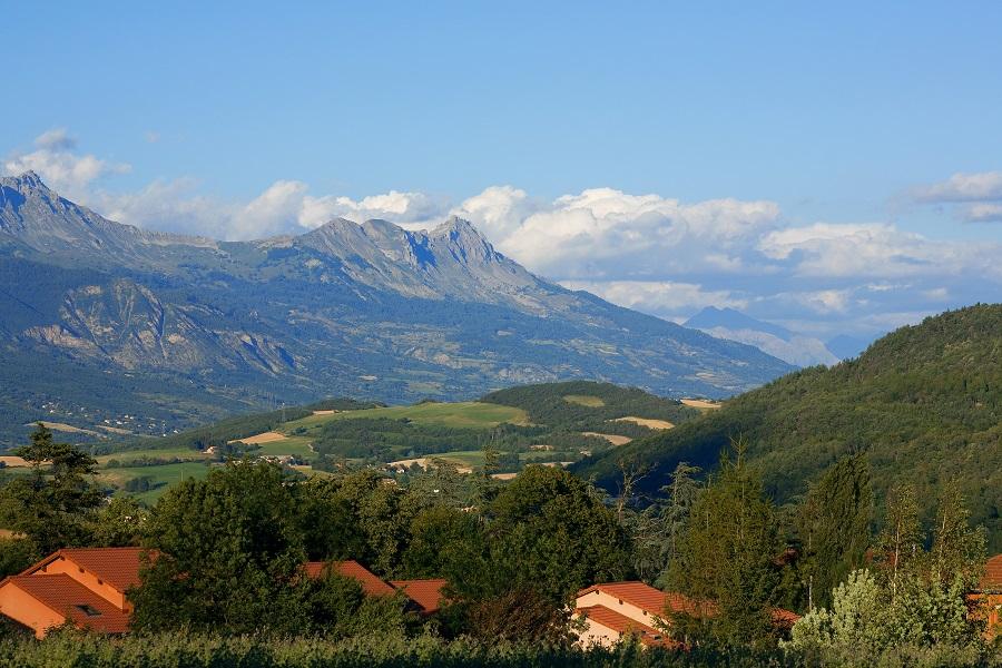 Vue sur les Alpes depuis Gap