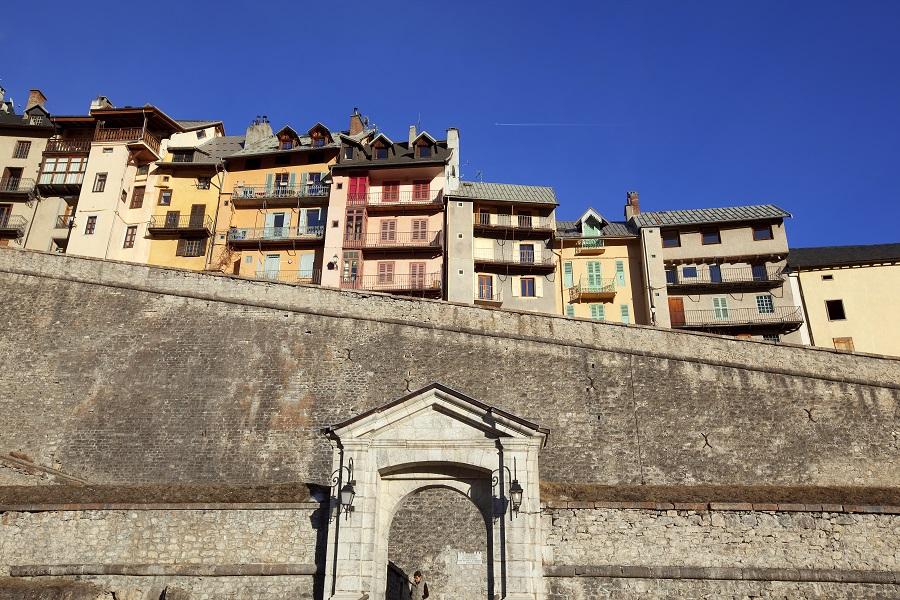 Briançon, citadelle édifiée par Vauban
