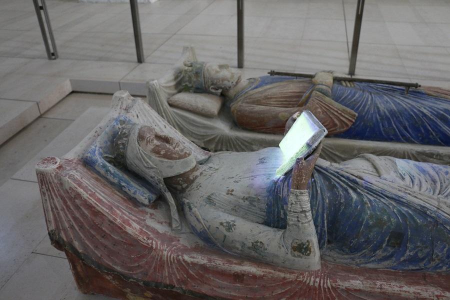 Gisant à l'abbaye de Fontevraud