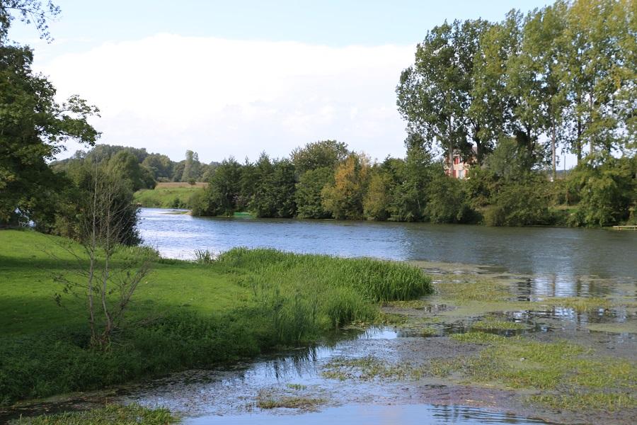 La Sarthe à Malicorne