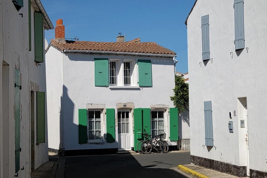 Maisons rétaises typiques