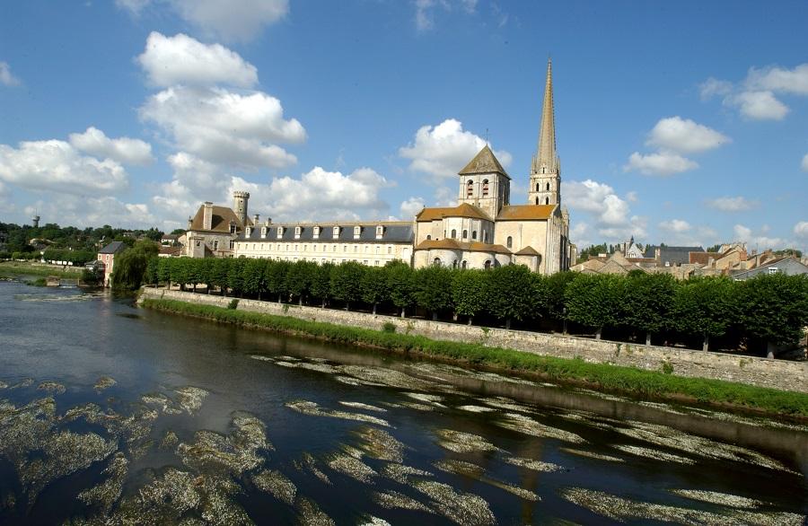L'abbaye de Saint-Savin-sur-Gartempe