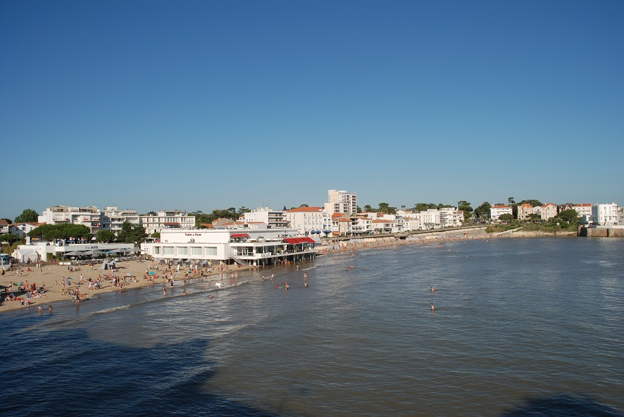 La plage de Pontaillac