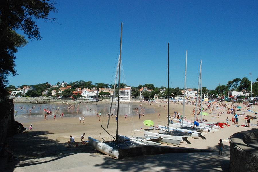 La plage de Saint-Palais