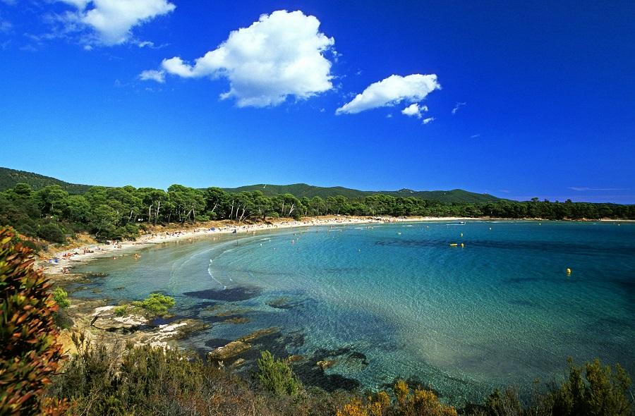 La superbe plage de l'Estagnol