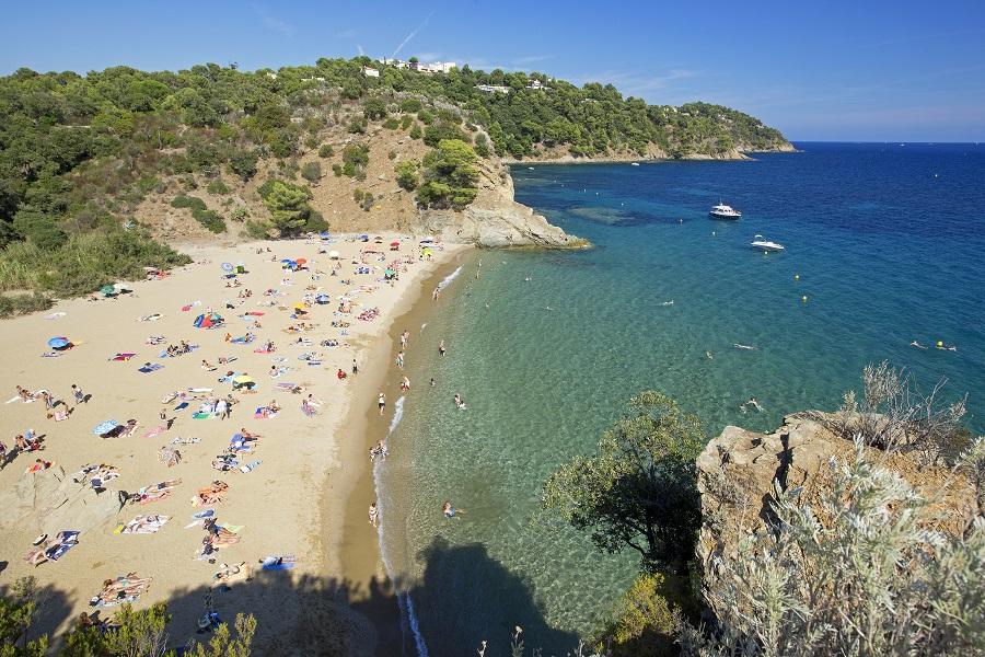 Les belles plages de Cavalaire