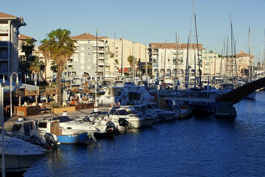 Le port de Fréjus