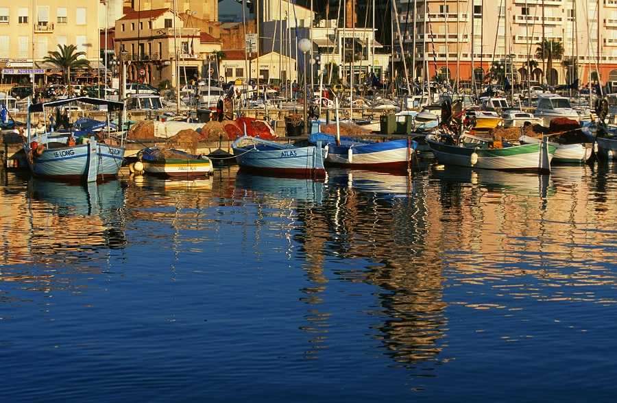 Le port de Saint-Raphaël